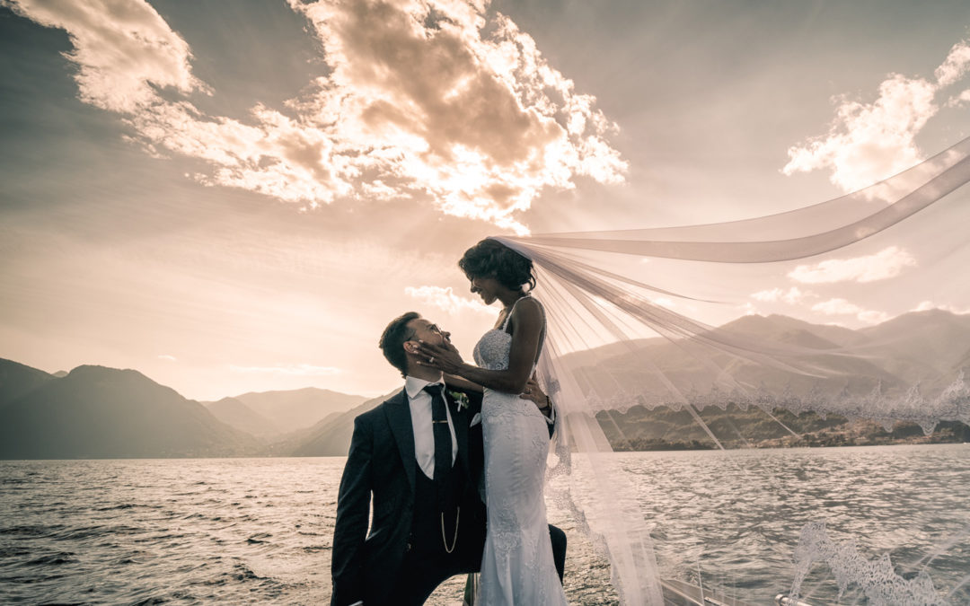 Ben & Lucy's wedding on Lake Como, Italy