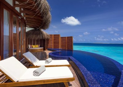 WEB Pic D1 OBLU SELECT at Sangeli - Honeymoon Water Suites with Pool - View from Deck and Pool