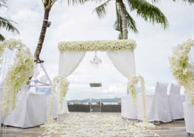 SUBBED Palm Lounge - Wedding Ceremony