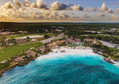 WEB 2 View Eden Roc Cap Cana Beach Club Aerial Shot