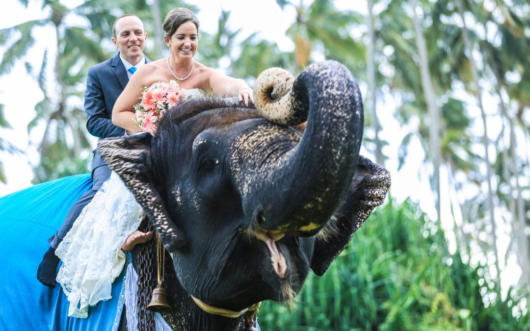 Cath & David marry in Sri Lanka