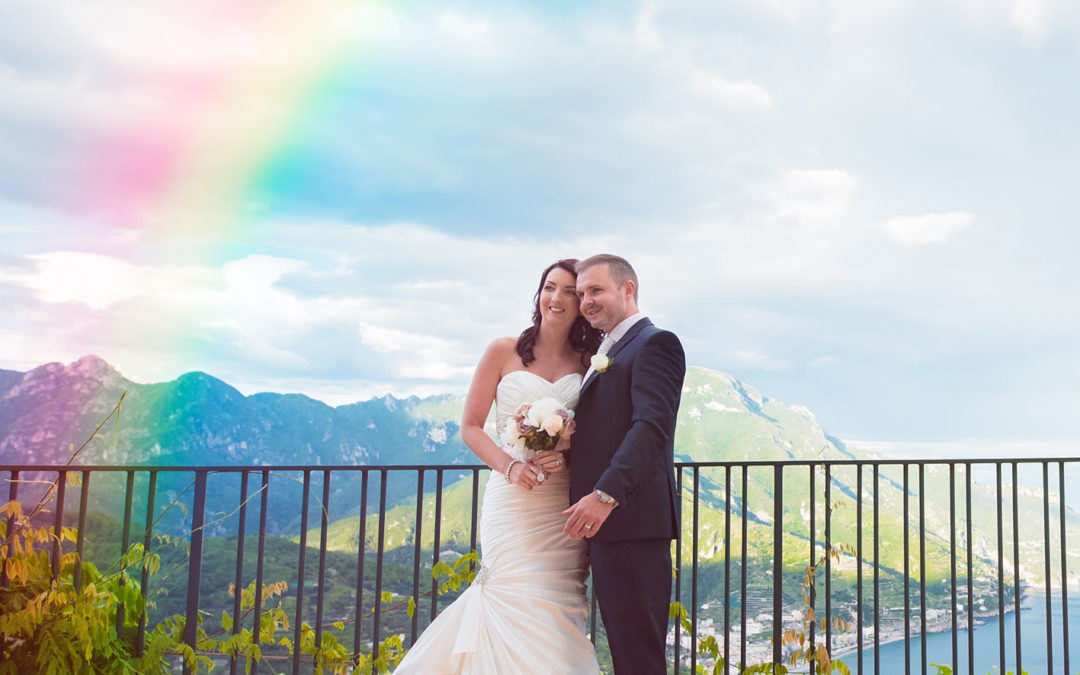 Hayley & Dean marry in Ravello, Italy