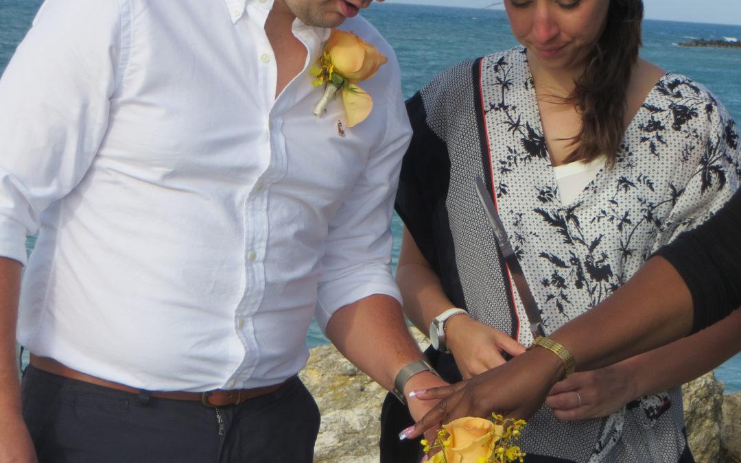 Chloe & Paul's wedding in Antigua