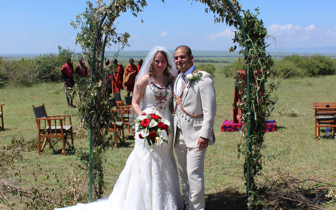 Lisa & Qamar marry in Kenya