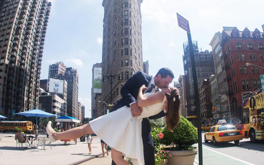 Lisa and David's New York wedding